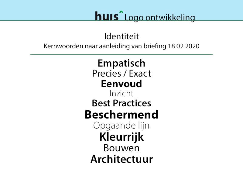 Logo grafisch ontwerp kernwoorden